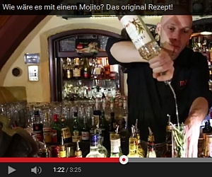 Cocktailvideo Mojito