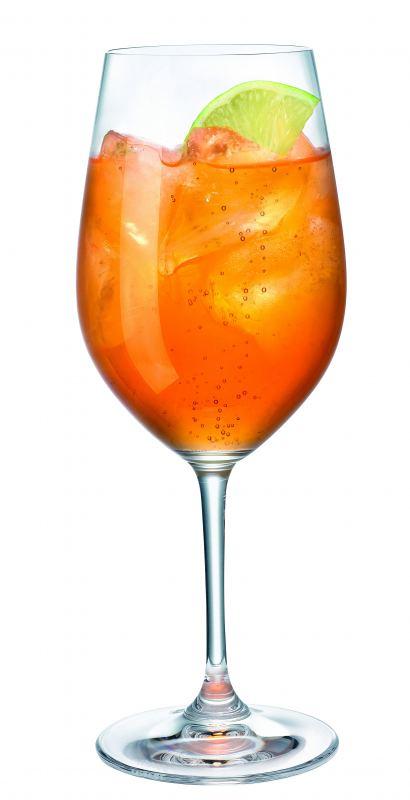 Aperol sundowner hausbar rezept aus der cocktail datenbank for Bicchiere da spritz